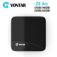 Presell VONTAR Z8 Arc DDR4 3G 32G Android 6 0 TV Box VP9 4K Amlogic S912
