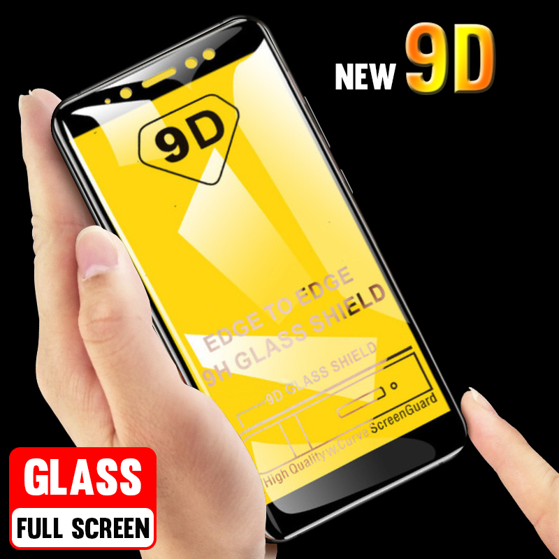 <font><b>9D</b></font> Protective Tempered <font><b>Glass</b></font> For <font><b>Huawei</b></font> <font><b>P20</b></font> <font><b>Lite</b></font> <font><b>Glass</b></font> P10 P smart Plus 2018 Screen Protector For Mate 20 Pro 10 <font><b>Lite</b></font> <font><b>Glass</b></font> Film image