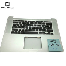 """For Macbook Pro Retina 15.4"""" A1398 2012 Topcase Palmrest with US keyboard without touchpad Original New"""
