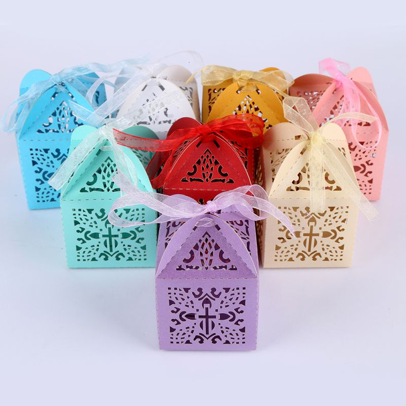 Wedding Gift For Guest: 10pcs/lot Gift Box Wedding Favors And Gifts Candy Box
