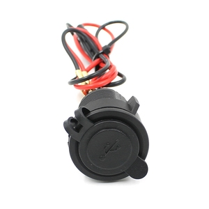 Image 3 - DC12 24V Dual USB Car Charger Plug Adapter For Motorcycle Car ATV Output 5V 3.1A Car Charger Socket USB Cover Plug