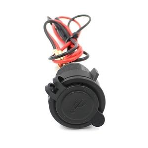 Image 3 - Автомобильное зарядное устройство с двумя USB разъемами для мотоцикла, автомобиля, квадроцикла, 5 В, 3,1 А