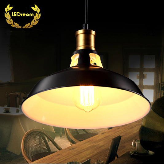 цены Creative loft warehouse industry wind restoring ancient ways American country single head droplight character art lamp shade