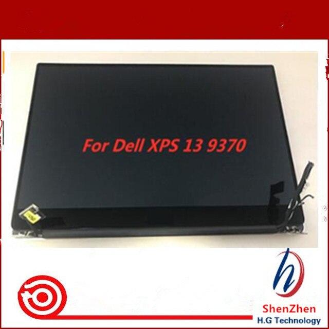 Оригинальный 13,3 сенсорный ЖК-экран для Dell XPS 13 9370 светодиодный сенсорный ЖК-экран полная сборка FHD UHD Бесплатная доставка