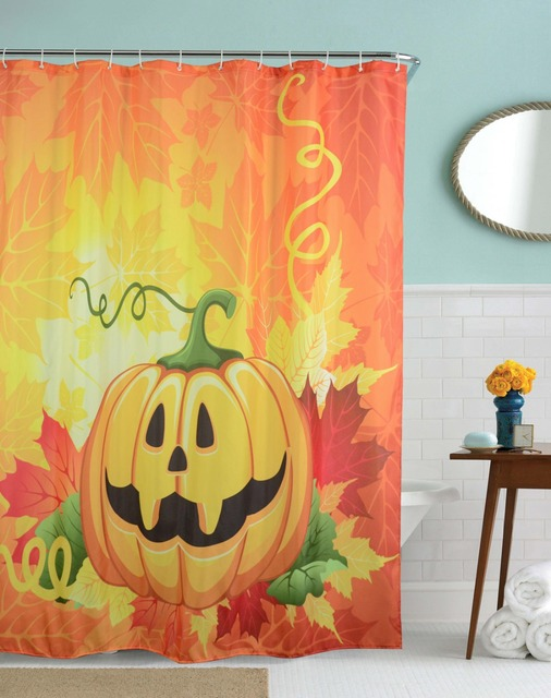 Aliexpress.com : Buy Smile Pumpkin Waterproof Bathroom Shower ...