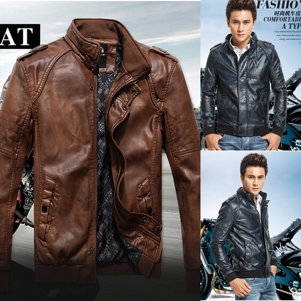 Cool Leather Jackets Men - Jacket