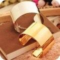 Широкий Блестка Открытие Браслеты золото/серебристый цвет браслет браслет Для женщин Аксессуары