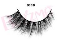 New Release Beauty 1 Pair S110 Luxe Mink False Eyelash 100 Real Mink Fur Handmade Individual