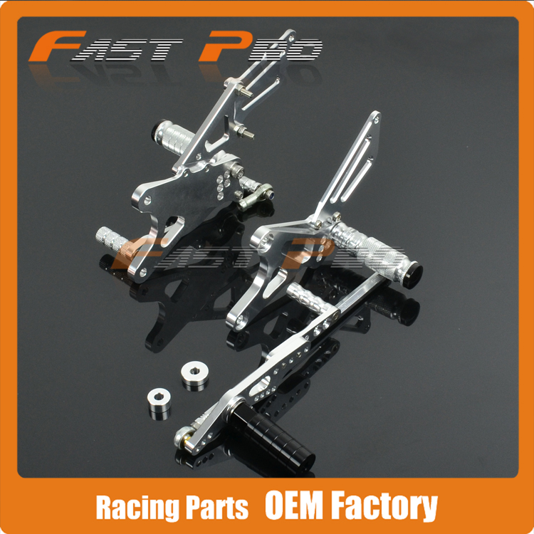 CNC Motorcycle Adjustable Billet Foot Pegs Pedals Rest For YAMAHA YZFR1 YZFR1 YZF-R1 2009 2010 2011 2012 2013 2014 2015CNC Motorcycle Adjustable Billet Foot Pegs Pedals Rest For YAMAHA YZFR1 YZFR1 YZF-R1 2009 2010 2011 2012 2013 2014 2015