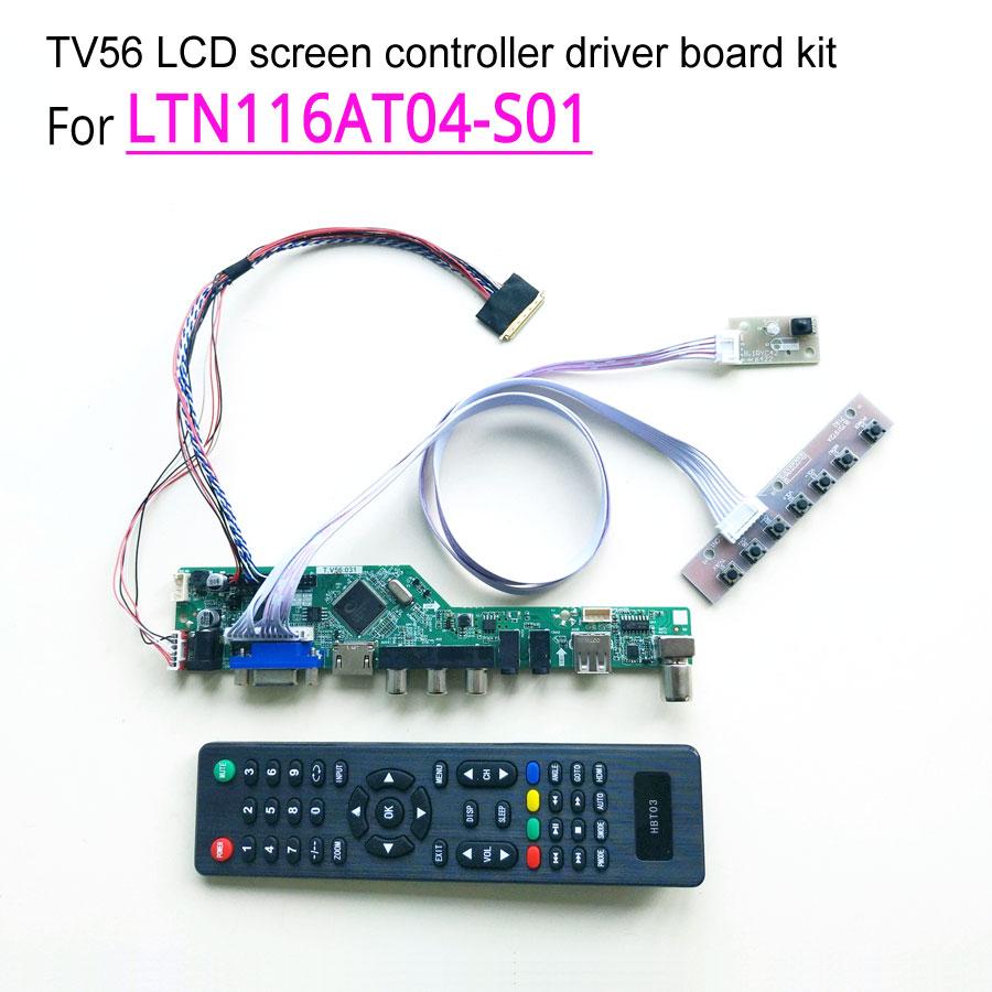 For LTN116AT04 S01 WLED 40 pin laptop LCD screen 1366 768 11 6 LVDS HDMI VGA