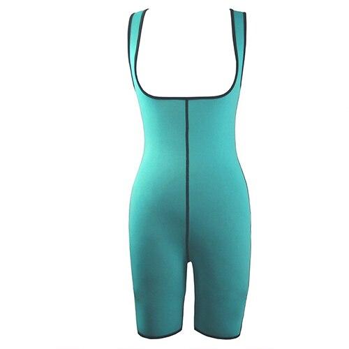 Flybirds's Store Sexy Women's Neoprene Ultra Sweats Waist Cincher Corset Bodycon Bodysuit