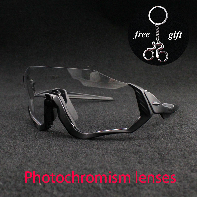 2019 new Outdoor Cycling Glasses Photochromic Mountain Bike Goggles Bicycle Sport Sunglasses Men MTB Cycling Eyewear 2016 hot sale outdoor sports bicycle eyewear men s new cycling sunglasses