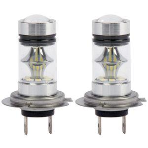 1 Pair High Power LED H7 Bulb
