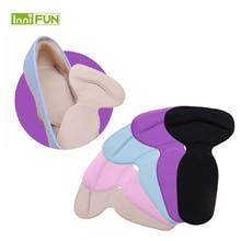 1 Pair 6 Colors 2 in 1 Gel Shoe Heel Protectors Silicone Foot