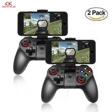 K ISHAKO Smartphone inalámbrico Joystick Gamepad Android controlador Control Bluetooth para IOS y PC Smart TV con el apo