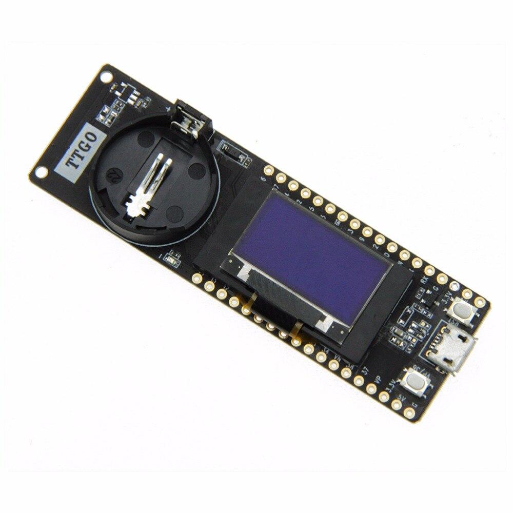 US $20 54 21% OFF TTGO T Fox LoRa32 V1 1 433/868/915Mhz ESP32 LoRa OLED  0 96 Inch Bluetooth WIFI Wireless Module ESP 32-in Circuits from Consumer