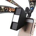 2017 Moda 3D Mini Teléfono Lentes de Fotografía Visión Estéreo Lente de la Cámara Para lg g2 g3 g5 g4c samsung galaxy j3 a7 a8 grand prime
