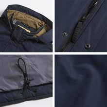 ICEbear 2019 high quality jacket autumn new casual collar men's jacket detachable hat brand men MWC18123I