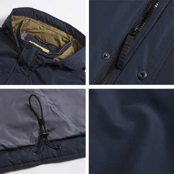 ICEbear 2019 high quality jacket autumn new casual collar men\'s jacket detachable hat brand men MWC18123I