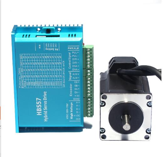 57 High Speed Closed-Loop Stepping Motor Set 2.2N Servo Closed-Loop Stepping Motor Driver HBS57 with Brake57 High Speed Closed-Loop Stepping Motor Set 2.2N Servo Closed-Loop Stepping Motor Driver HBS57 with Brake