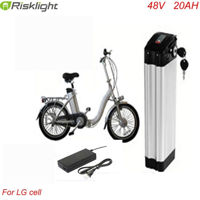 Ebike pil 48 v 1000 w elektrikli bisiklet pil 48 V 20Ah için bafang - Bisiklet Sürmek - Fotoğraf 1