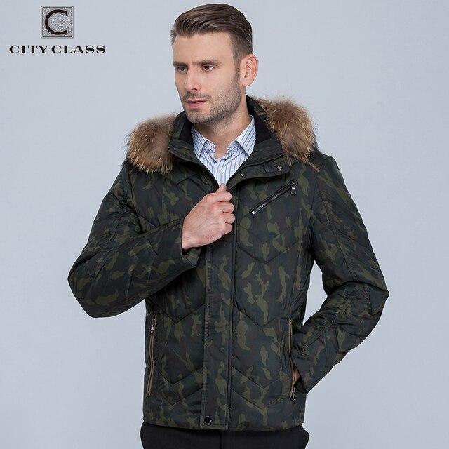 Город класса мужская Настоящее енотовидная собака капюшоном Теплая зима камуфляж куртка Мода для мужчин повседневные мужская парки милитари куртка 389 - 14