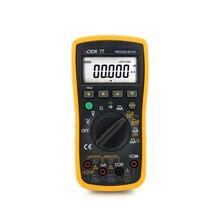 Victor VC77 калибратор процесса аналоговый выход 0-20 мА имитирующий передатчик 0 до-20 мА циклическая поставка 24 в цифровой мультиметр DMM