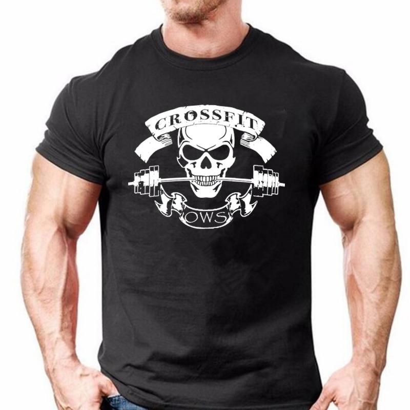 COOLMIND 100% cotton Men   T  -  Shirt   Male casual   T     shirt   Homme Summe CROSSFIT design   t  -  Shirts   Men's Tee   Shirts   Man Clothes