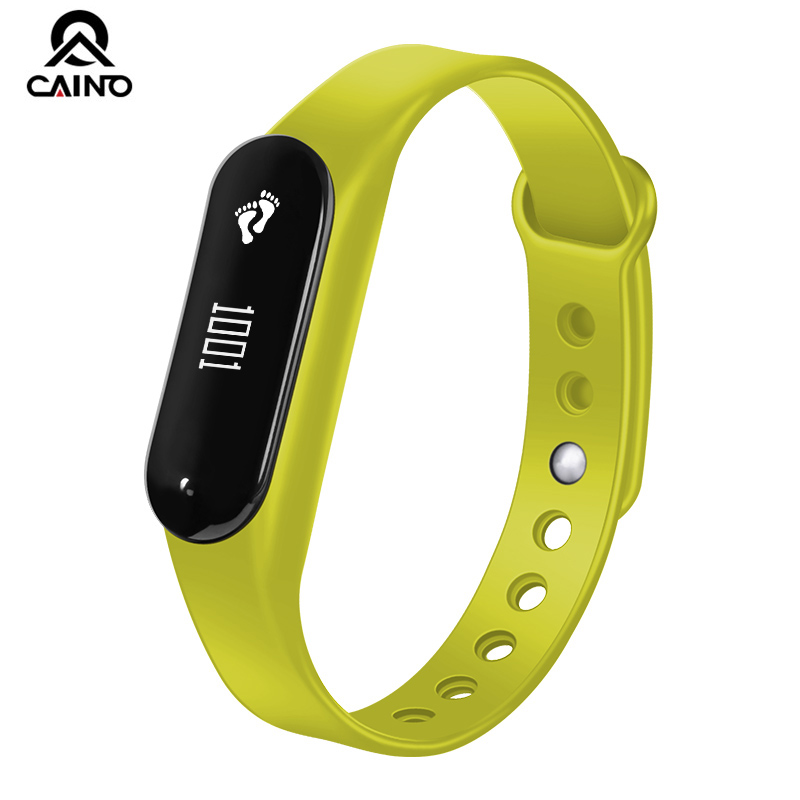 CAINO Fashion Smart Watch for Women Men Bluetooth Smart Wristband for iOS Android Heart Rate Monitor Pedometer Waterproof Watche n7 bluetooth smart watch smart wristband for android