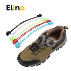Elino 1 пара без галстука шнурки для ленивых унисекс для мужчин женщин Красочные эластичные Круглый обувь кружево замок для взрослых детей