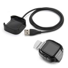 Estación de carga USB para reloj inteligente Fitbit Versa, Cargador USB de repuesto de alta calidad, 1m/3,3 pies, Accesorio de Cable