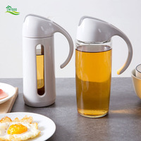 Automatically Open And Close The Glass Oil Leak Proof Small Household Oil Bottles Home Kitchen Sauce