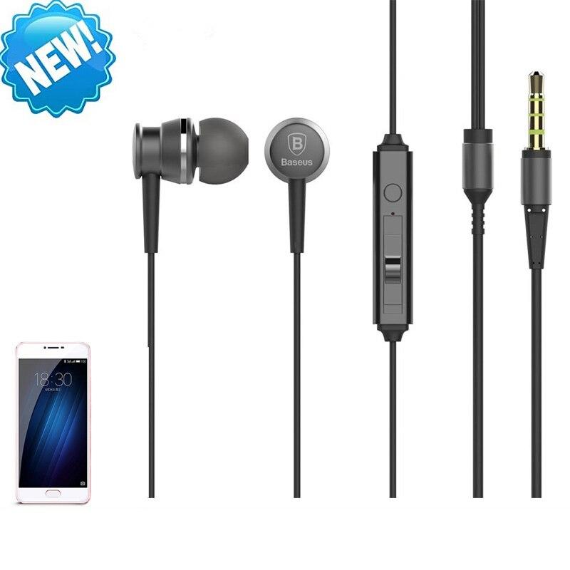 In ear Headphones earbuds headset for Meizu m3s mini Noise Cancelling headphones for girls boys mini