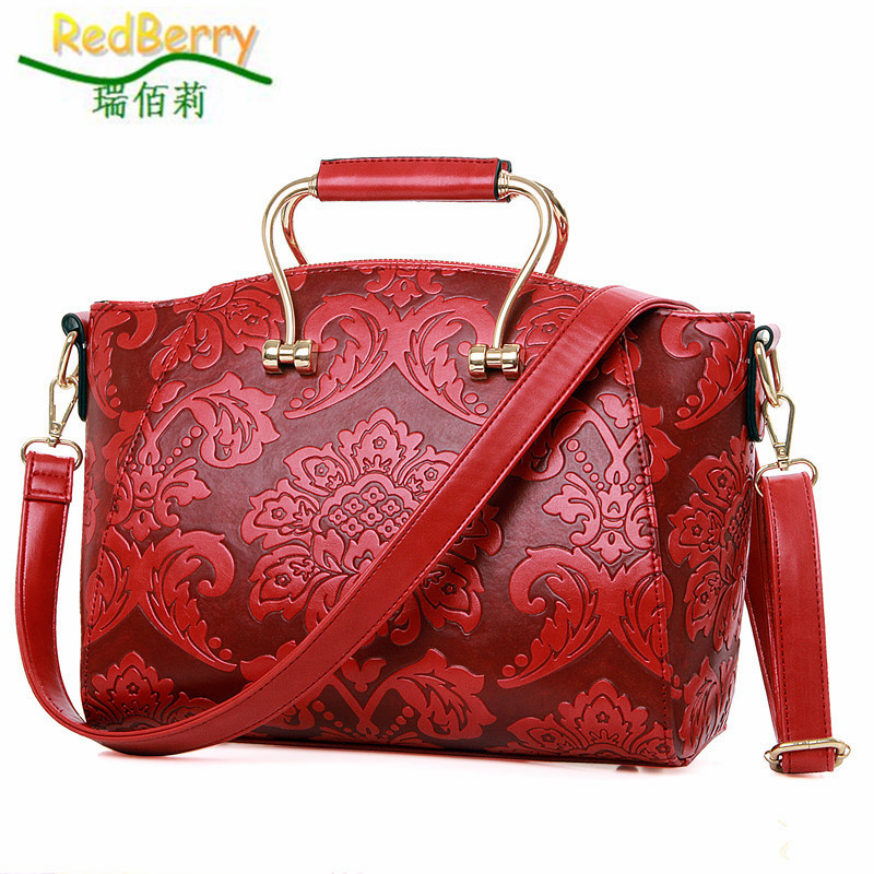 2015 Women Bag Top PU Leather Handbag Shoulder New Arrival Crossbody Luxury Ladies Casual Tote Famous Brand Chinese Style