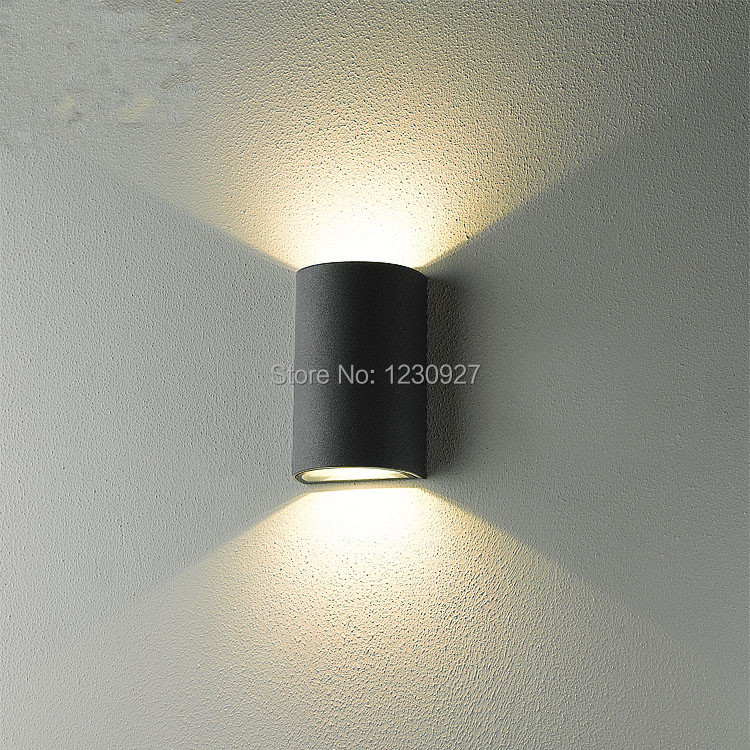 free shipping European modern minimalist creative study wall lamp LED waterproof outdoor garden lighting patio door wall light ...