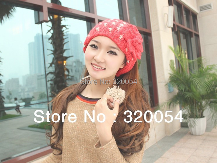 Free shipping (1pcs) The new winter 2013 South Korea version of knitted cap Lovely and warm hat of the woman  scarf 6 color фонарь led lenser seo7r blue 6107 r