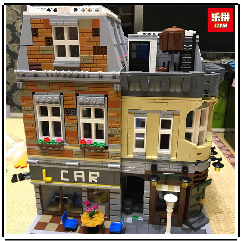 IN-STOCK Lepin 15034 4210Pcs Genuine MOC Series The New Building City Set Building Blocks Bricks Educational Toy Model As Gifts new in stock zus64815