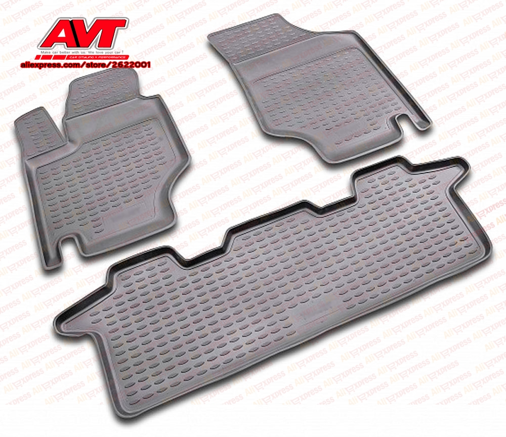 US $38 85 |Floor mats for Hyundai Trajet 1999 2008 4 pcs rubber rugs non  slip rubber interior car styling accessories-in Chromium Styling from