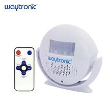 купить Small Recordable Voice Speaker WAV Sound Recording Player with Infrared Human Body Motion Sensor Alarm Dry Battery Powered дешево