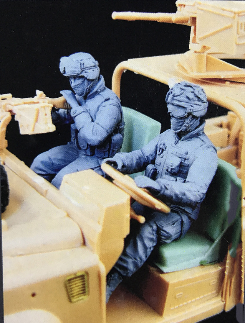 Unpainted Kit  1/35 US Special  soldiers in Afghanistan  soldier  figure Historical  Figure Resin  Kit Солдат