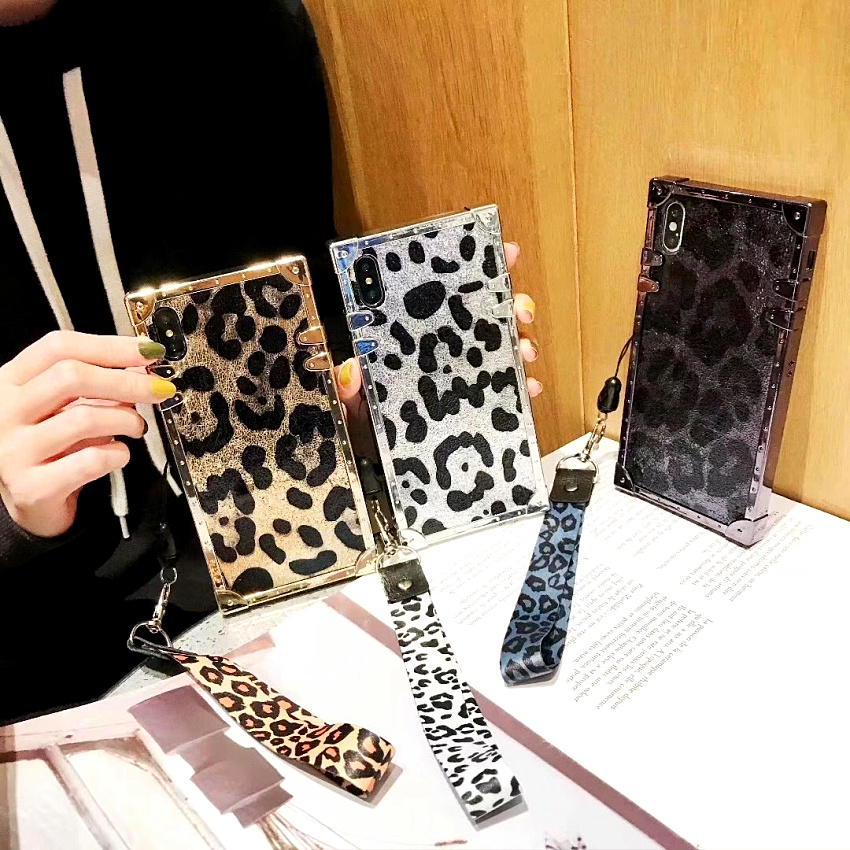 coque iphone xr leopard silicone