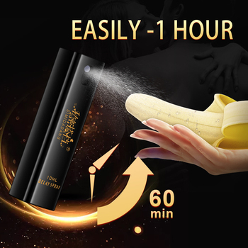 Sex Delay Spray for Men Male External Use Anti Premature Ejaculation Prolong 60 Minutes penis enlargment pills