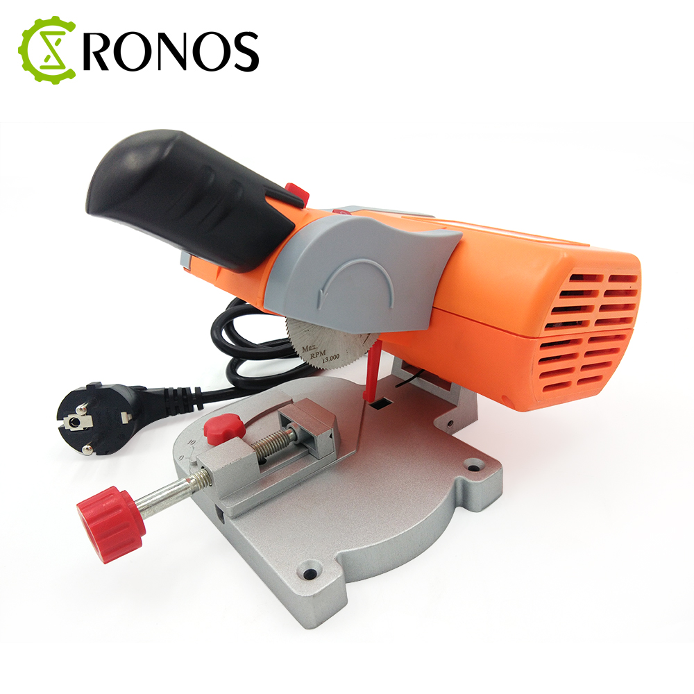 New 90w Cutting Machine high speed Bench Cut off Saw Steel Blade for cutting Metal Wood Plastic with Adjust Miter Gauge-in Woodworking Machinery Parts from Tools    1