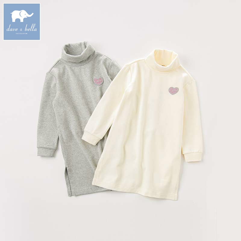 DBK8378 dave bella kids girl 5Y-13Y t-shirt children boutique long sleeve tops baby lovely clothes kids fashion long teesDBK8378 dave bella kids girl 5Y-13Y t-shirt children boutique long sleeve tops baby lovely clothes kids fashion long tees