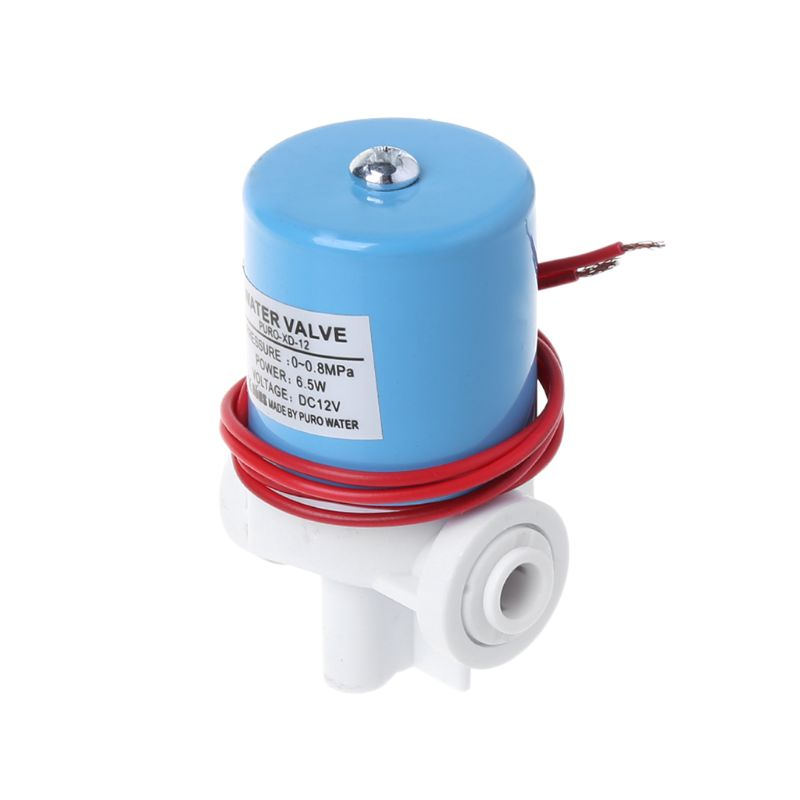 Heimwerker AnpassungsfäHig 1/4 quick Connect Wasser Einlass Magnetventil Haushalts Reines-wasser Maschine Teile