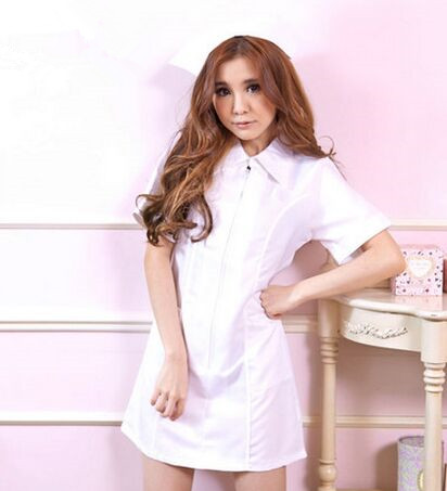 white nurse costume for women sexy nurse costume nurse uniform cosplay work uniform costummes halloween clothing for women