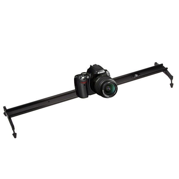 80 CM cámara de vídeo Mini Slider vídeo Rail estabilización para DSLR Canon 550D