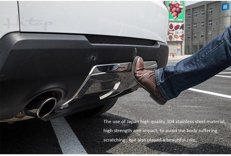 vordere u. hintere Stoßschwellenabdeckung / Gleitplatte für Range - Autoteile - Foto 4
