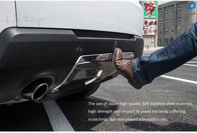 ด้านหน้าด้านหลังกันชน sill COVER/ลื่นไถลสำหรับ Range Rover Sport,2 ชิ้น/เซ็ต, 2014-2017.thicken 304 สแตนเลส,เอเชียฟรีจัดส่ง