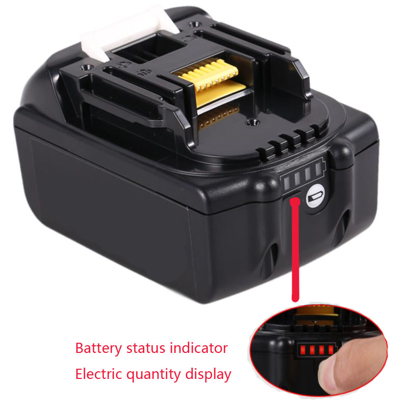 BL1830 Battery Plastic Case PCB Charging Protection Board For MAKITA 18V BL1850 3.0Ah 5.0Ah LED Li-ion Battery Indicator